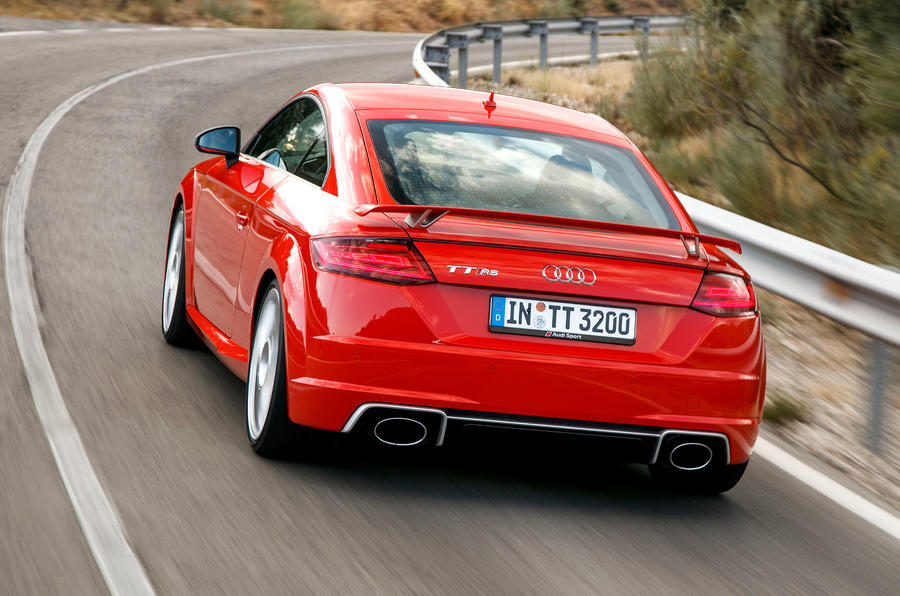 Audi TT RS rear quarter
