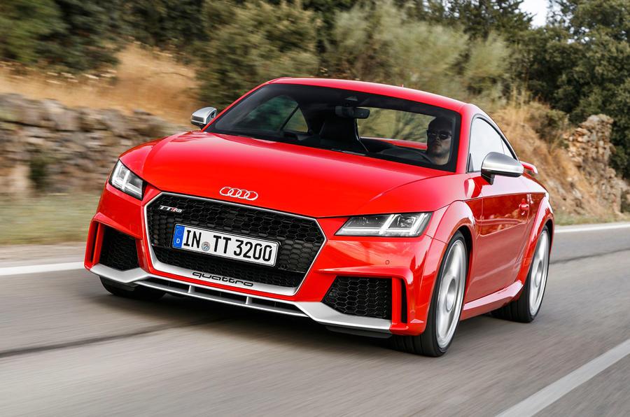 Audi TT RS front quarter
