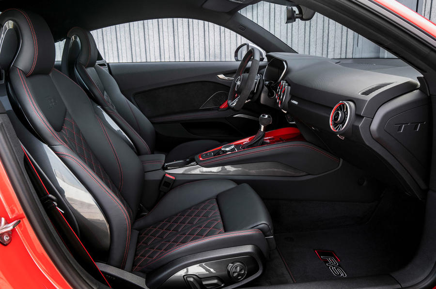 2016 audi tt rs coup review review autocar On tt rs interior