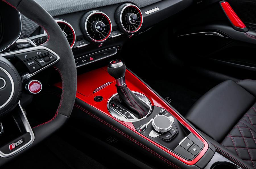 Audi TT RS auto gearbox