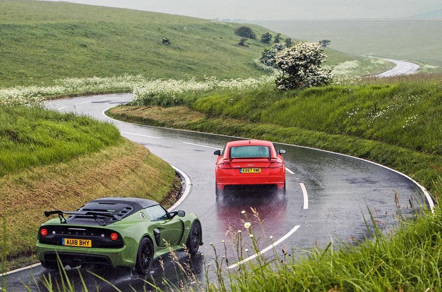 Audi TT RS longterm review versus Lotus