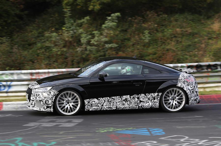 Audi TT RS testing