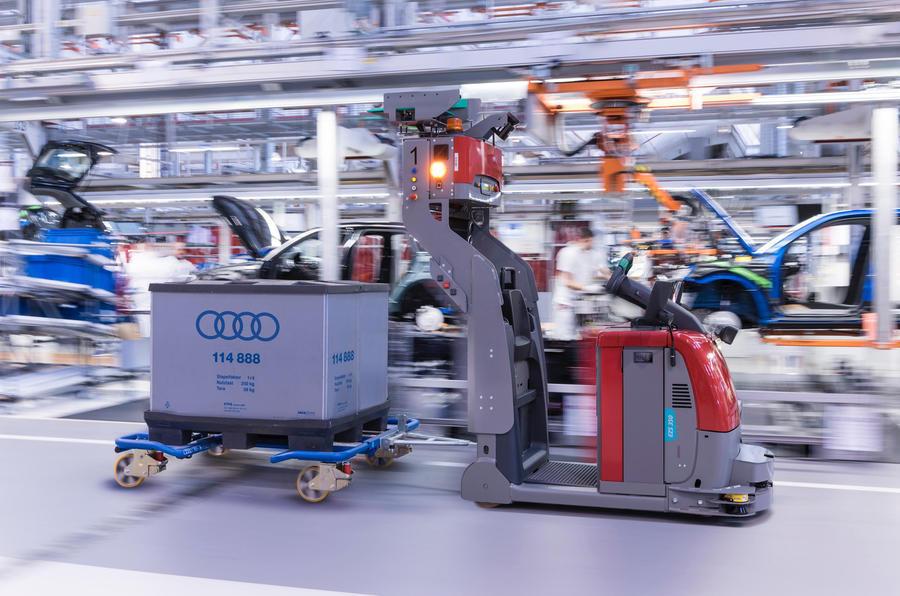 Audi production facility