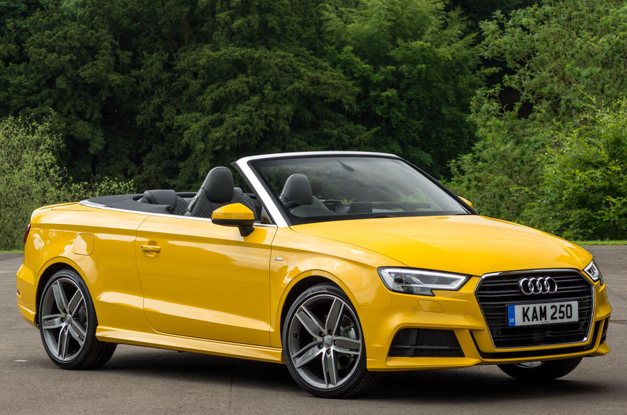 2016 Audi A3 Convertible 1.4 TSFI S line review review ...