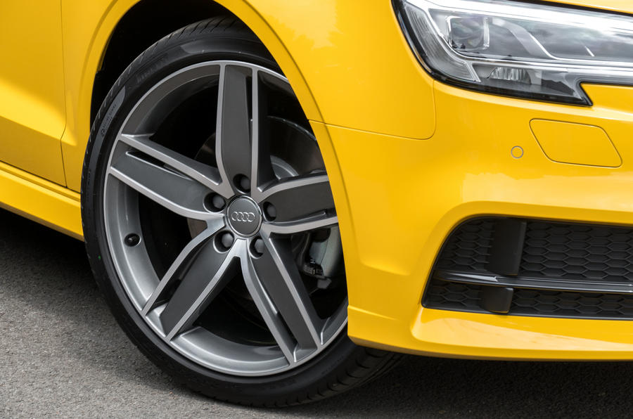 17in Audi A3 Cabriolet alloys
