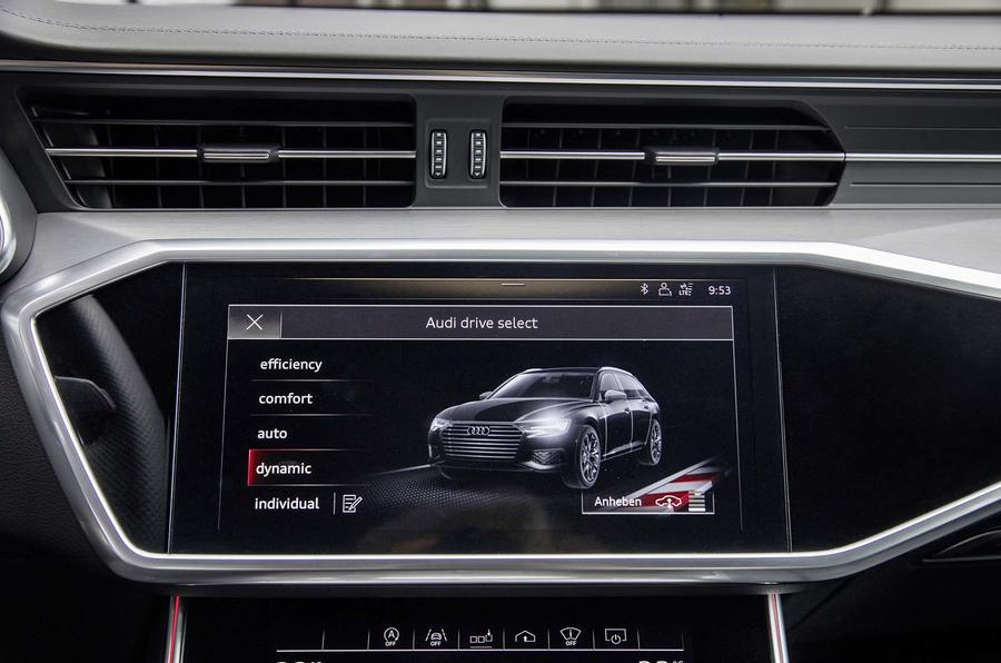 Audi A6 Avant 2018 first drive review infotainment