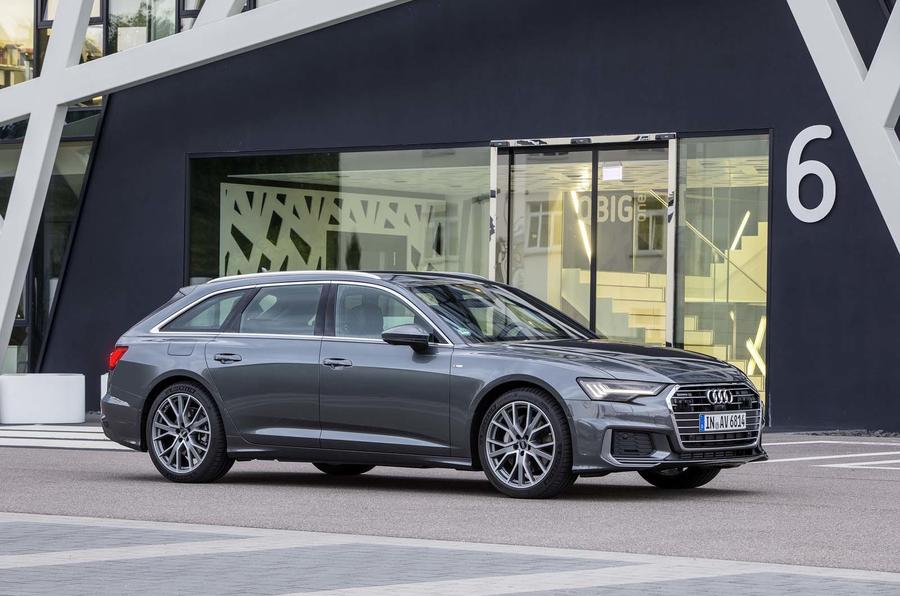 Audi A6 Avant 2018 first drive review static front