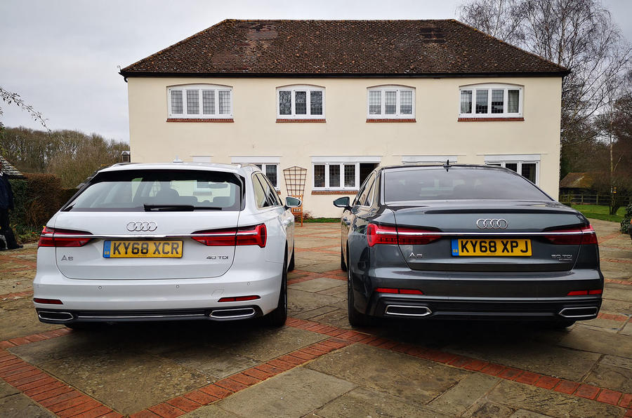 Audi A6 Avant 2019 long-term review - swap rear