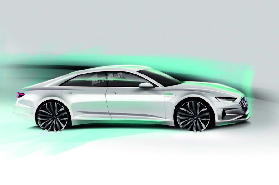 New Audi E Tron Gt Teased Ahead Of La Show Debut Autocar