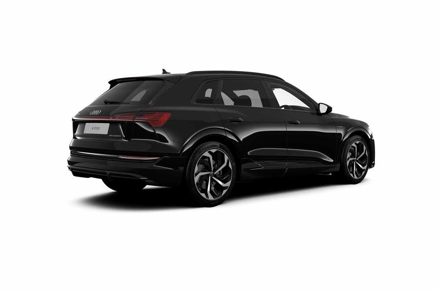 Audi E-tron Black Edition rear