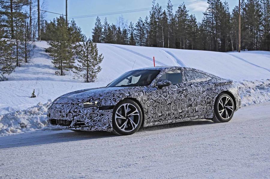 2021 - [Audi] E-Tron GT Audi_e-tron_gt_spyshots7