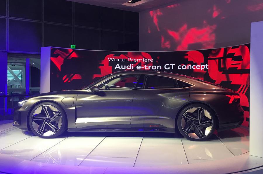 Auto E-tron GT concept official show debut - 5