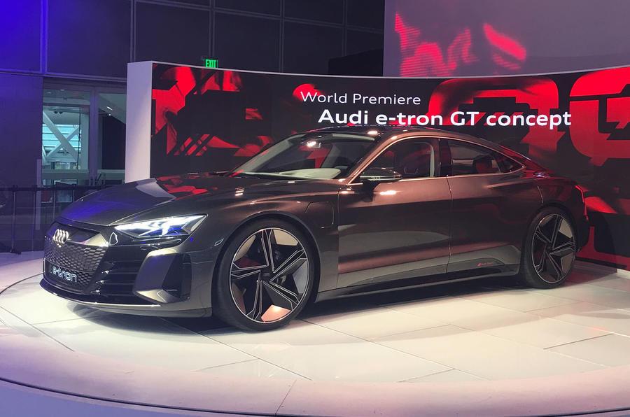 Four Door Sports Cars >> Audi E-tron GT concept unveiled as electric flagship | Autocar