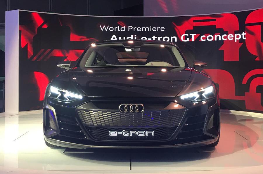 Auto E-tron GT concept official show debut - 4