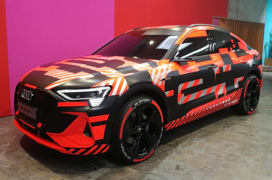 Audi E-tron Sportback Geneva motor show 2019 - front
