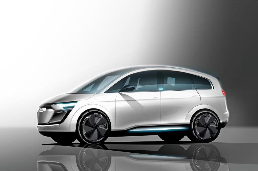 Autocar modernised Audi A2 render