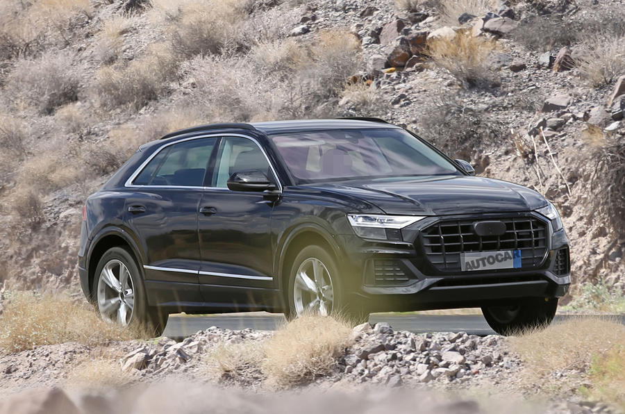 2018 Audi Q8 spotted almost undisguised ahead of May launch