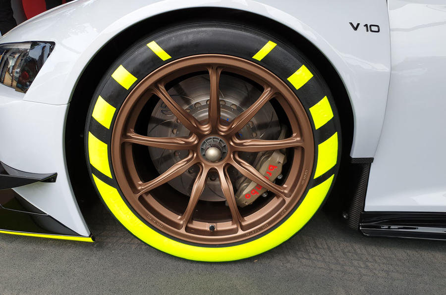 Audi R8 LMS GT2 - Goodwood reveal - alloy wheels