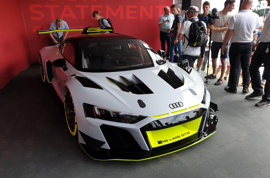 Audi R8 GT2 official debut - nose