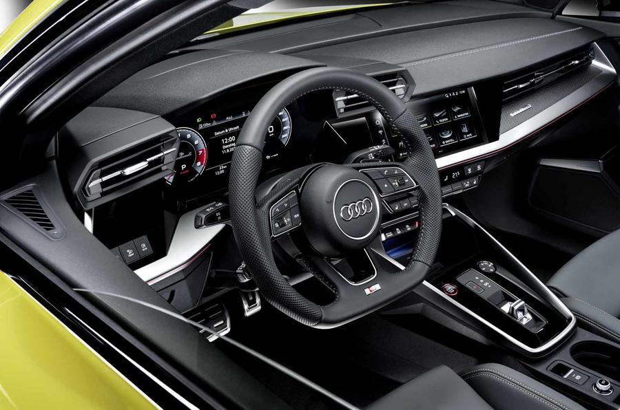 2020 Audi S3 saloon - steering wheel