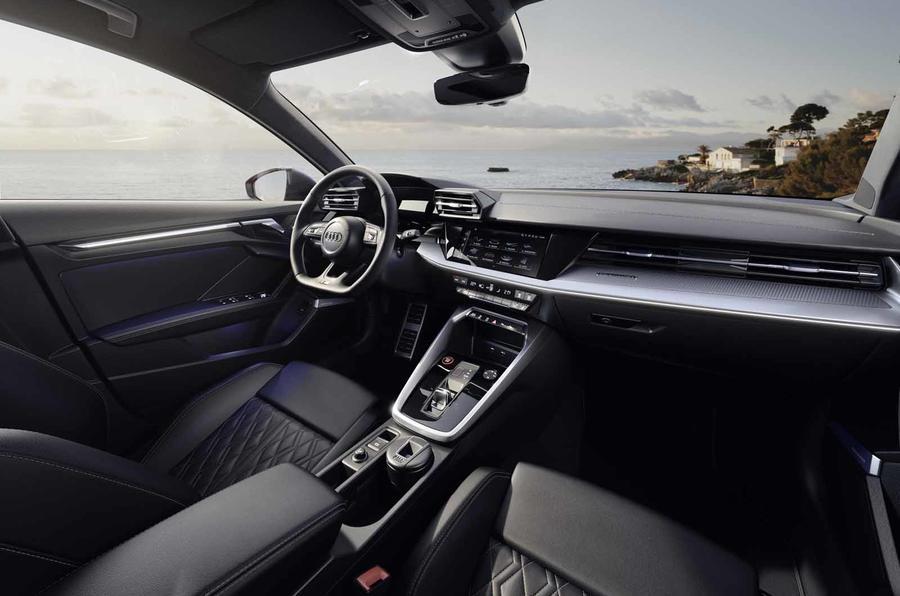 2020 Audi S3 saloon - interior