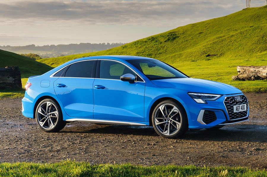 Audi S3 saloon