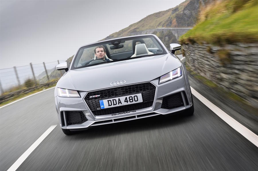 2016 Audi Tt Rs Roadster Review Review Autocar