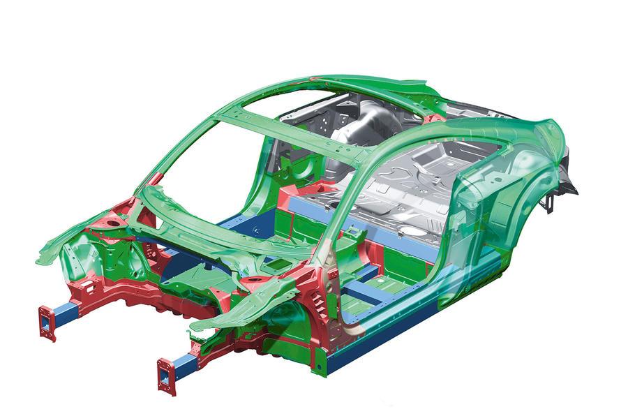 Audi TT platform diagram