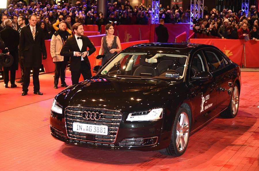 Autonomous Audi A8