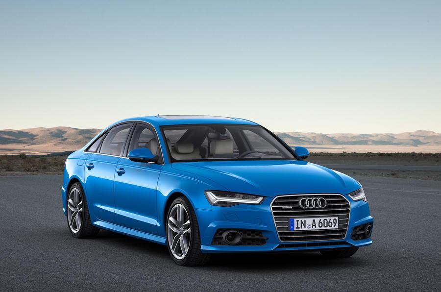 Audi facelifts 2016