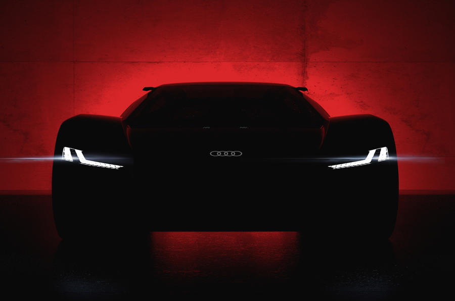 Audi to reveal electric PB18 e-tron supercar concept