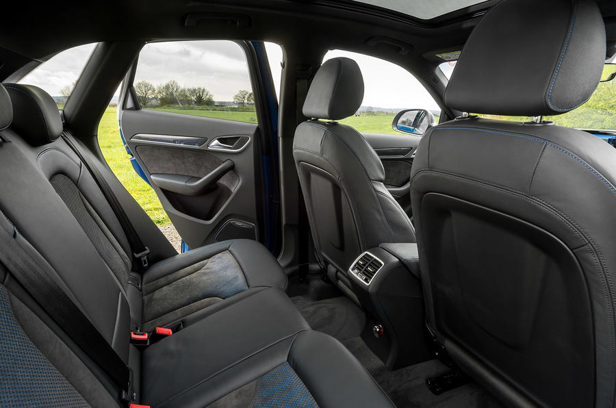 Audi RS Q3 Performance rear seats