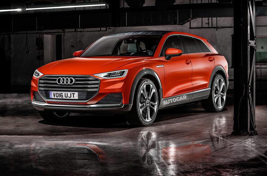 2018 Audi Q8 New Pics Of Flagship Suv Autocar