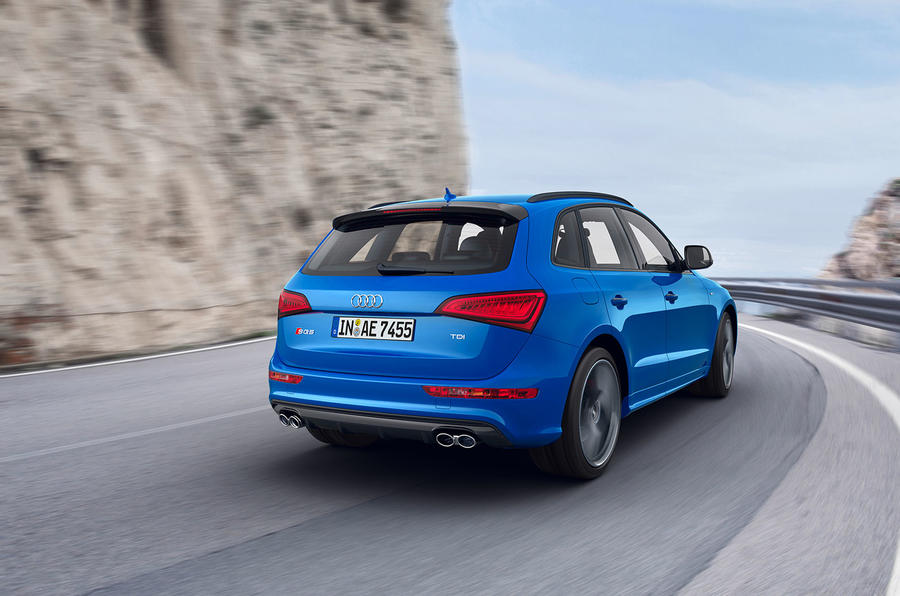 2015 audi sq5 tdi plus adds power and equipment autocar. Black Bedroom Furniture Sets. Home Design Ideas