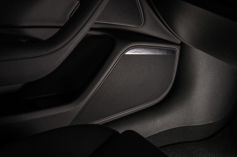 Audi A6 Avant Bose sound system