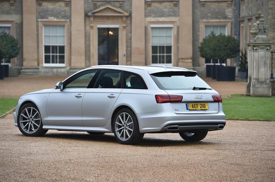 Audi A6 Avant rear quarter