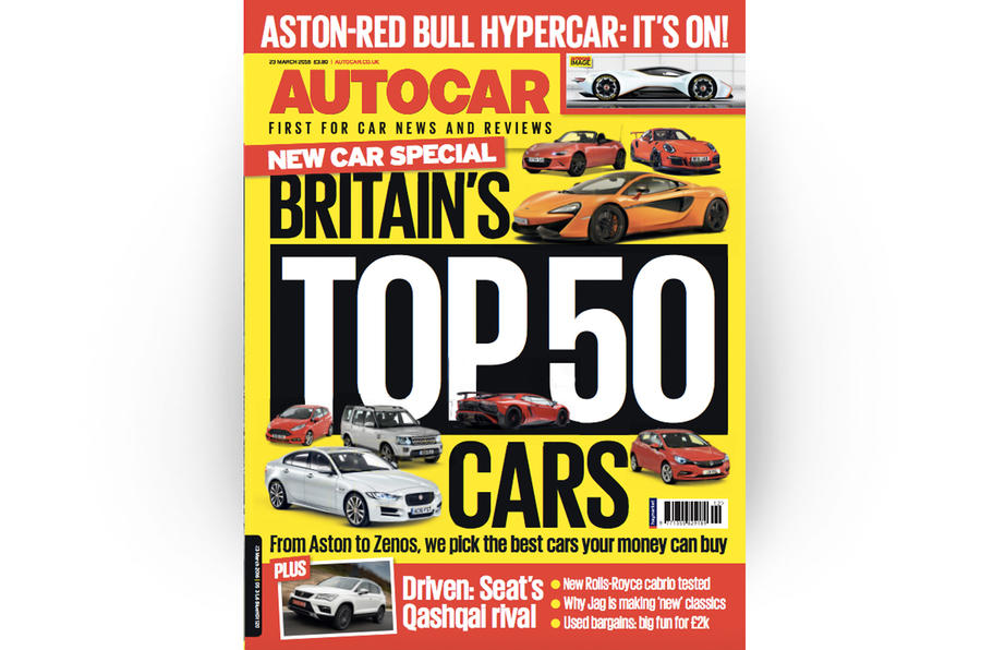 Autocar cover 23 March