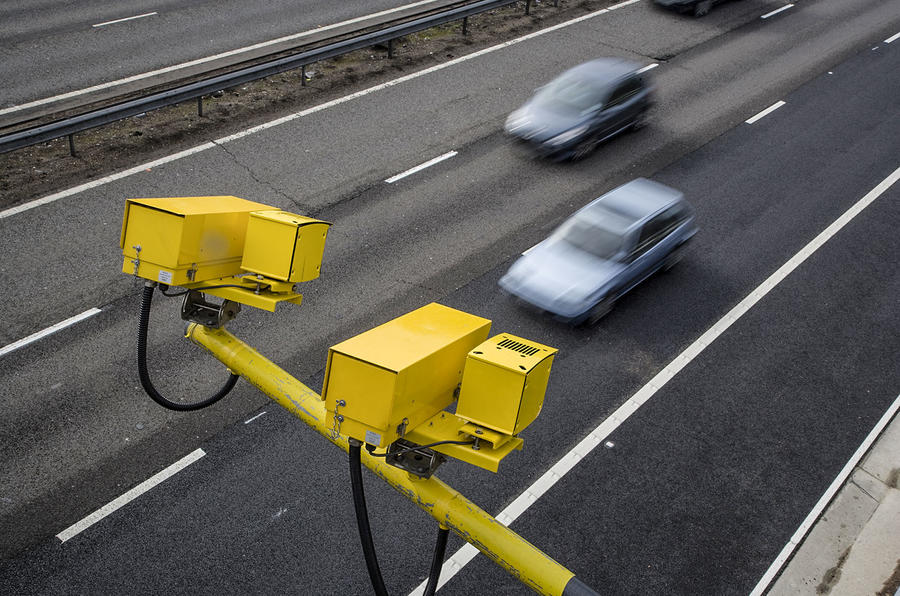 Average speed camera