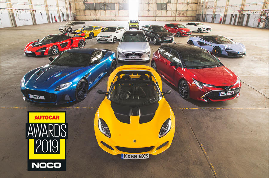 Autocar Awards 2019 - all the cars