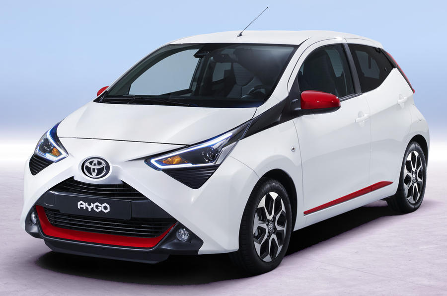 Toyota Aygo tweaked for 2018