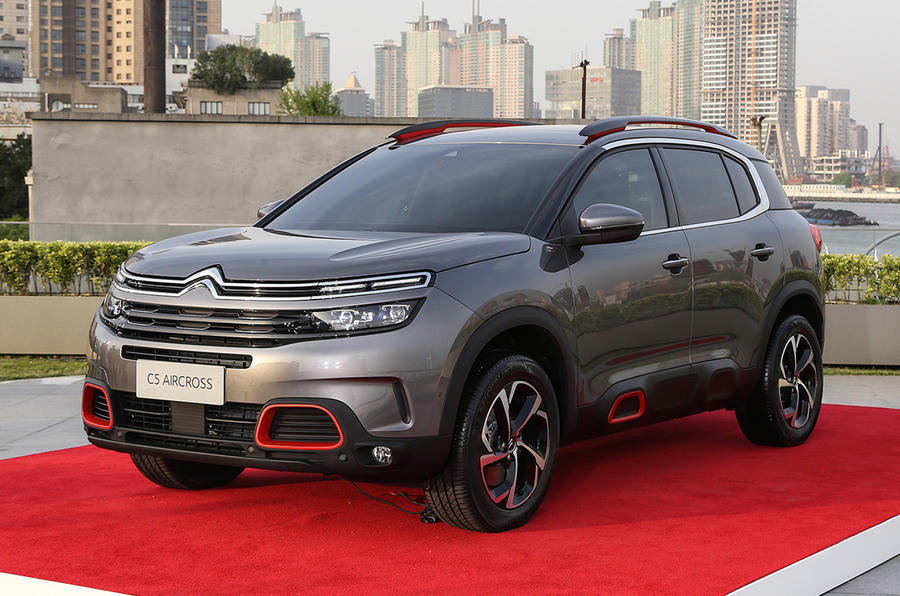 Citroen C5 Aircross Revealed At Shanghai Motor Show Autocar
