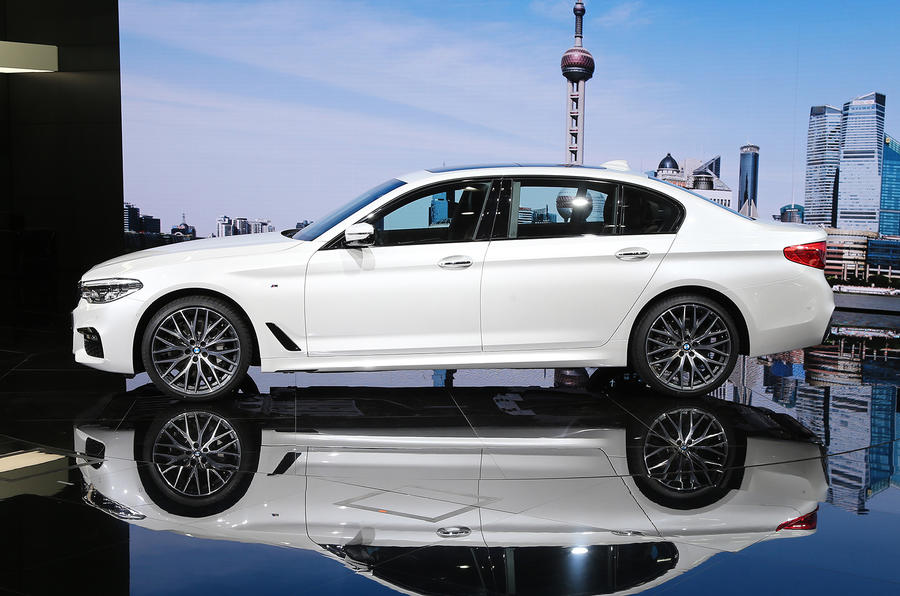 Long wheelbase BMW 5 Series Li makes Shanghai motor show debut