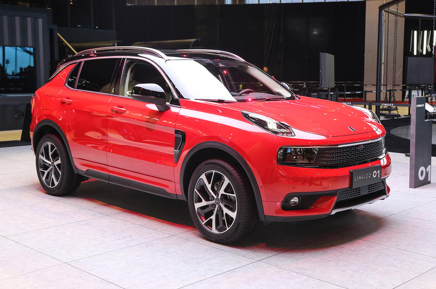2017 Lynk&Co 01 SUV launched at Shanghai show | Autocar