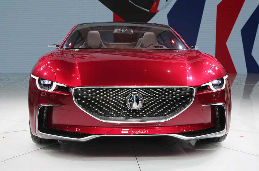 MG E-Motion EV sports car unveiled at Shanghai motor show 2017