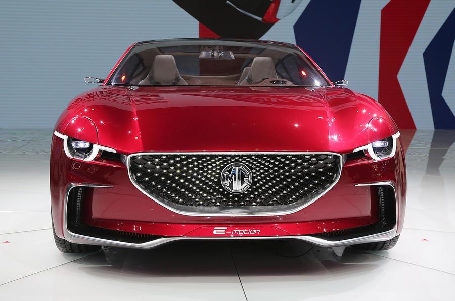 MG E-Motion EV sports car unveiled at Shanghai motor show 2017