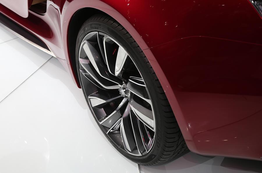 MG E-Motion EV wheel style