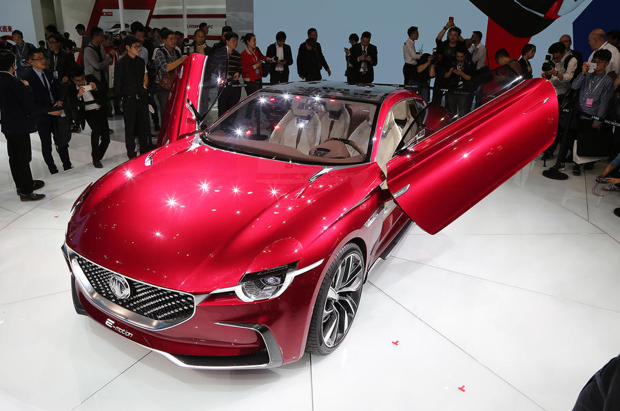 MG E-Motion EV sports car for production in 2020