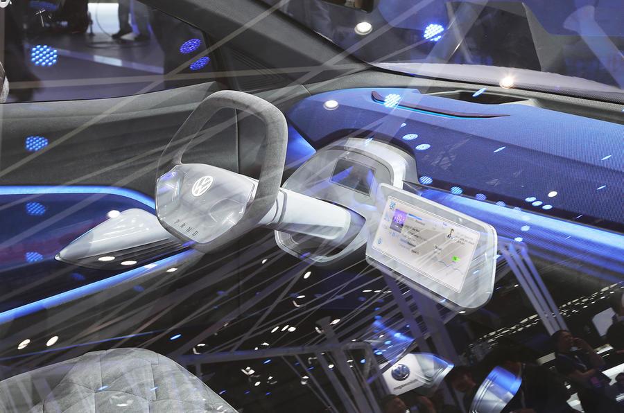 VW ID Crozz interior