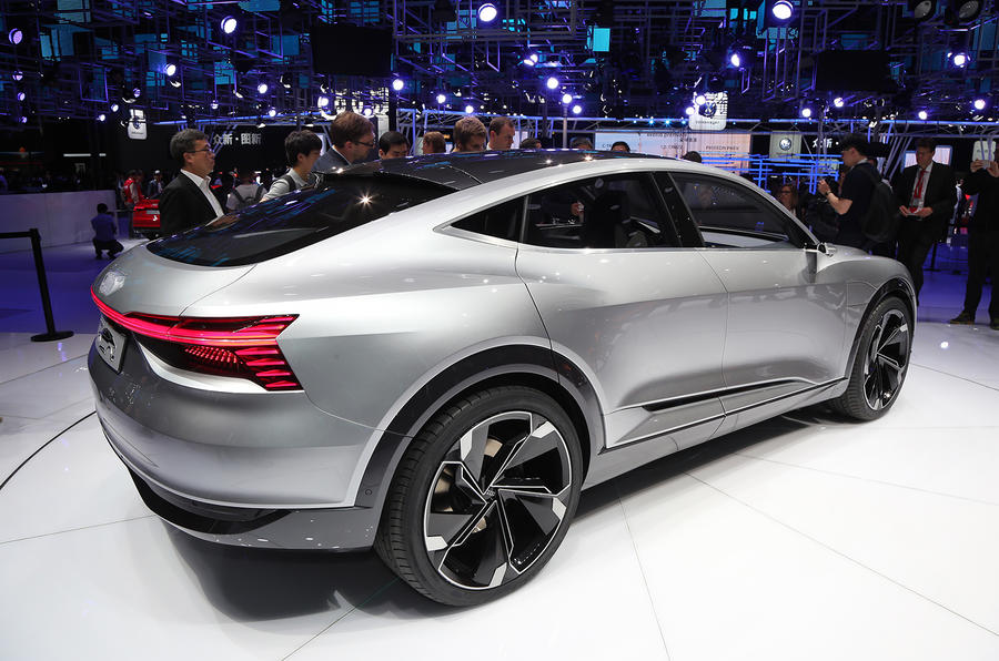 2019 Audi E Tron Sportback Set To Take On Jaguar I Pace