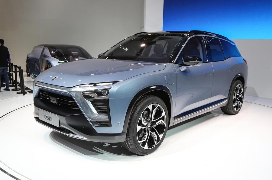 nio es electric suv revealed at shanghai motor show